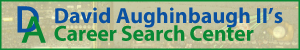 David Aughinbaugh II Career Search Center Banner