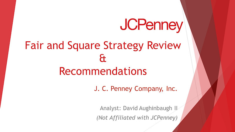 A image of my JCPenney Fair and Square Review Front Slide